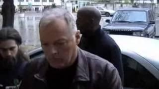 Pink Floyd / David Gilmour & Rick Wright arrive 2001
