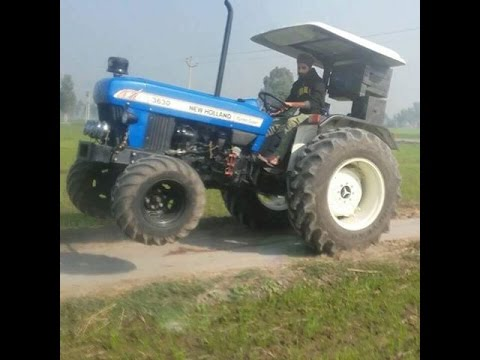 Ford Newholland 3630 Special Edition With 13 Feet Rotavtor