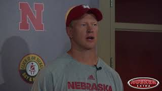Watch: Frost after practice