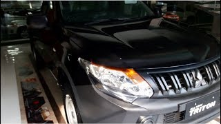 Mitsubishi Triton Single Cab GLX 4x2 review - Indonesia