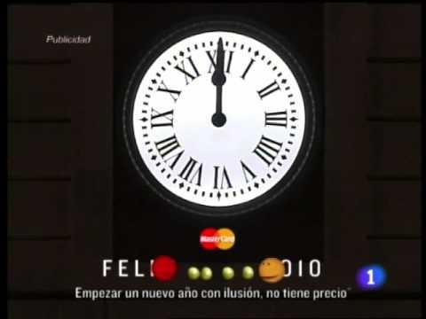 Campanadas fin de a o 2009 2010 la puebla online youtube for Puerta del sol uvas