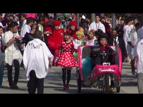 ももクロ T-SPOOK 東京お台場ハロウィンパレード2014