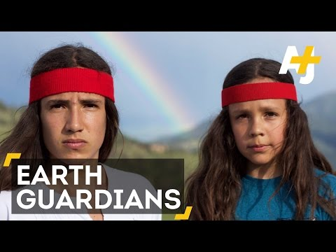 Indigenous Activist Mobilizes Hundreds Of Teens To Fight Against Climate Change