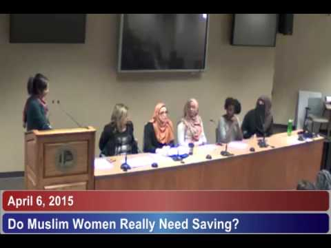 """Do Muslim Women Really Need Saving?"" Panel at Western University"