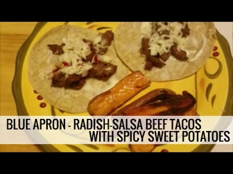 Smoky Steak Tacos With Radish Salsa