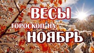 Весы. Гороскоп на ноябрь 2017 года.