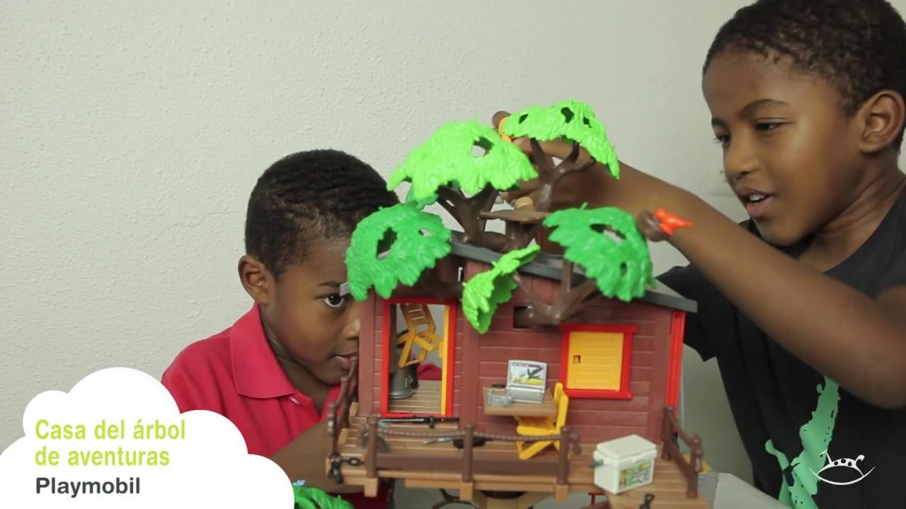 Casa del rbol de aventuras playmobil youtube - Casa del arbol playmobil 5557 ...