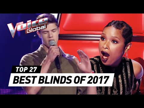 BEST BLIND AUDITIONS OF 2017 | The Voice Rewind