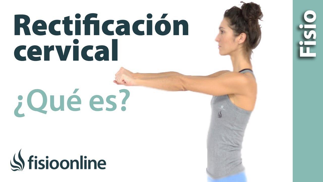 Rectificación cervical - Envaramiento de curvatura cervical - ¿Qué ...