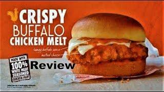 Burger King Crispy Buffalo Chicken Melt Review