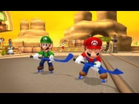 Mario Sports Mix (Wii U) - Hockey - Flower Cup (Hard)