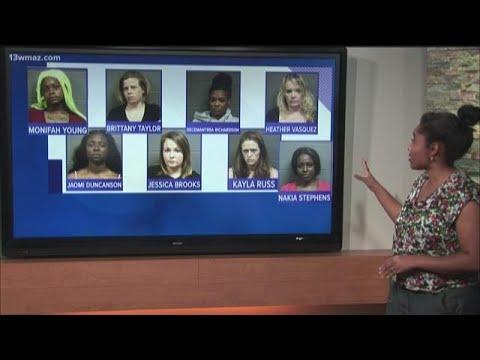 Warner Robins Prostitution Sting Nabs 8 Women