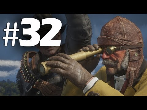 Red Dead Redemption 2 Part 32 - Hot Air Balloon - Gameplay Walkthrough (RDR2) PS4
