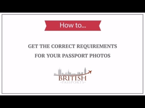 Uk Passport Photos How To Get The Correct Requirements Youtube