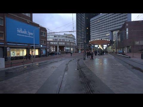 HTM tramlijn 12 Duindorp - Station Hollands Spoor / Rijswijkseplein | GTL8 3074 | 2018