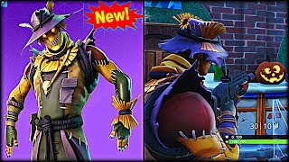 NEW Hay Man Halloween Skin! - Fortnite: Battle Royale Gameplay