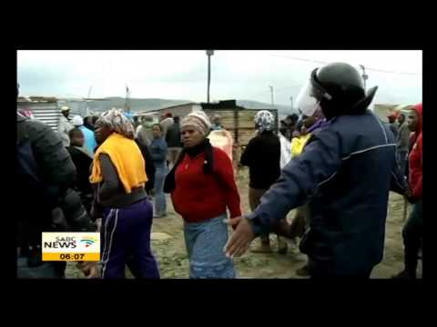 Lwandle mass evictions illegal: Sisulu