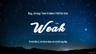 [Lyrics + Vietsub] Weak - AJR