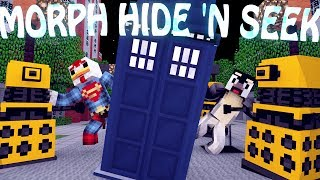 Minecraft Mods   MORPH HIDE AND SEEK - Doctor Who Mod! (Morph Mod)