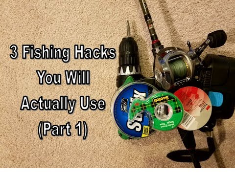 3 Fishing Hacks You Will Actually Use...Rod & Reel