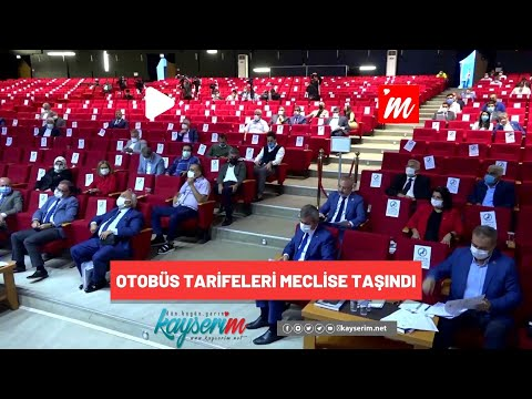 Otobüs Tarifeleri Meclise Taşındı