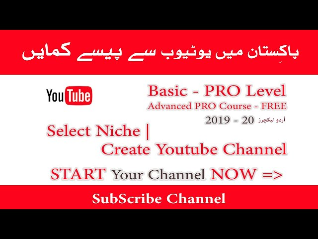 How to Select Niche | Create Channel & Optimize Settings 2019-20