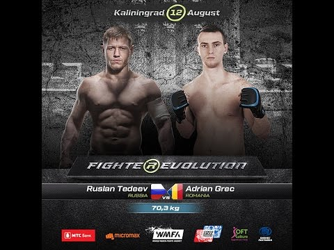 Ruslan Tedeev (Russia) VS Adrian Grec (Romania) (Full HD)