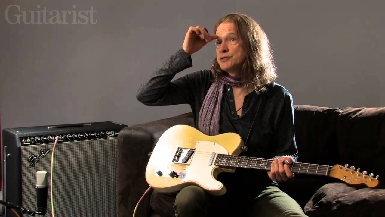 Robben Ford on his blonde 1960 Telecaster - YouTube