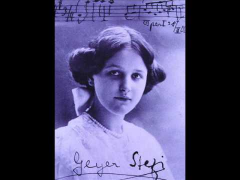 Stefi Geyer plays Dvorak : Slavonic Dance No.2