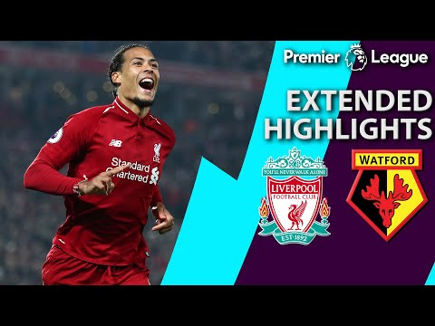 Liverpool v. Watford | PREMIER LEAGUE EXTENDED HIGHLIGHTS | 2/27/19 | NBC Sports