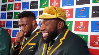 "Tendai ""Beast"" Mtawarira talks about his funny call from President Cyril Ramaphosa"