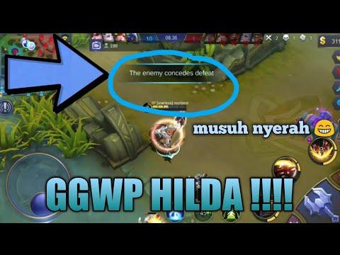 CEWEK BEROTOT BESAR!! SIAPA YANG BILANG HILDA JELEK ? - MOBILE LEGEND INDONESIA