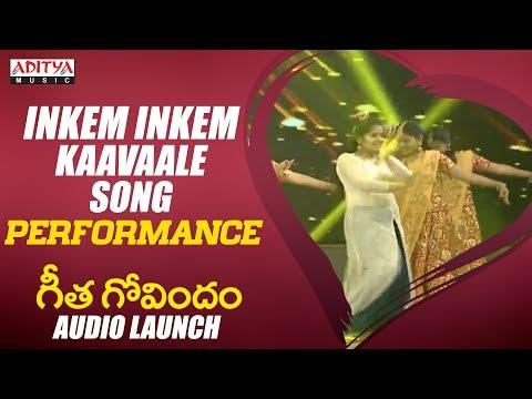 Download Lagu  Inkem Inkem Inkem Kaavaale Song Performance @ Geetha Govindam Audio Launch Mp3 Free