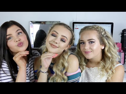 GET READY WITH US PARTY EDITION | JASMINE C
