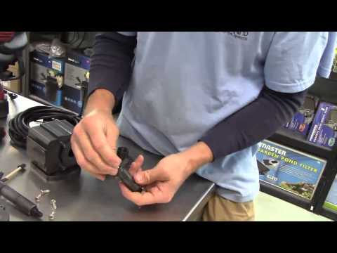How to replace an impeller in a pond master pump - with Jeff Kite