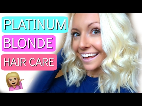 PLATINUM BLONDE HAIR CARE ROUTINE!