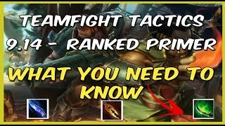 Ready for TFT Ranked?! Teamfight Tactics 9.14 META Breakdown - What's OP? What Changed?! TFT LoL