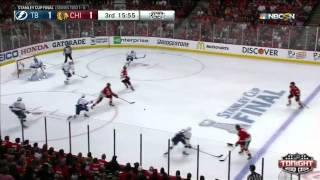 Chicago Blackhawks vs Tampa Bay Lightning SCF Game 3 Highlights