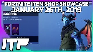 Fortnite Item Shop *NEW* MALCORE SKIN! [January 26th, 2019]