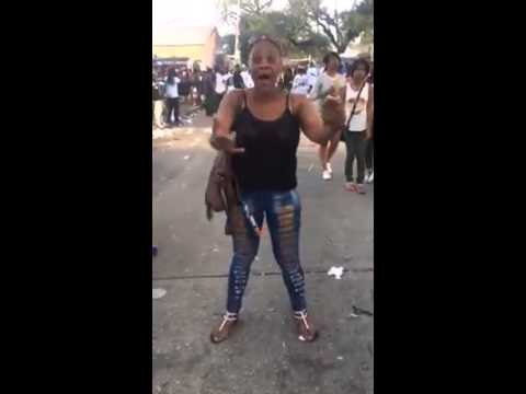 Ratchet lady with deep voice