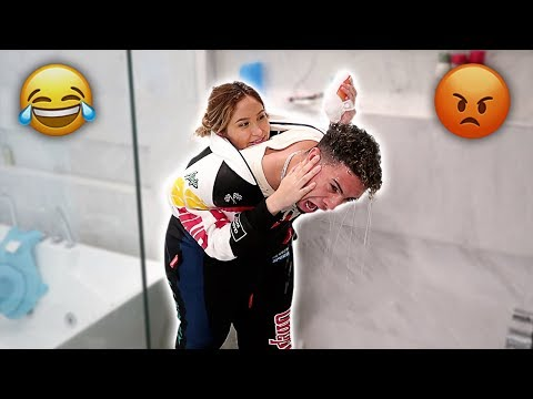 COUPLES STUCK TOGETHER CHALLENGE!!! **HILARIOUS**