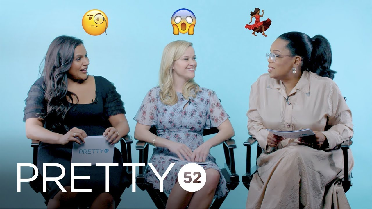 Quickfire Questions With Oprah Winfrey, Reese Witherspoon, Mindy Kaling