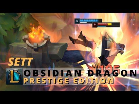 Obsidian Dragon Sett Prestige Edition - League of legends