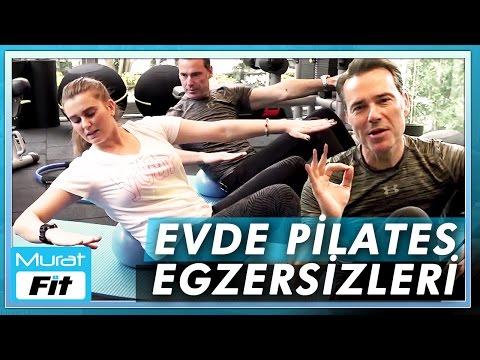 Evde Pilates Egzersizleri - Pilates Hareketleri
