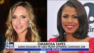 Omarosa releases tape of Lara Trump offering campaign job