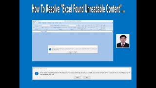 How to Resolve Excel found unreadable content in file ?