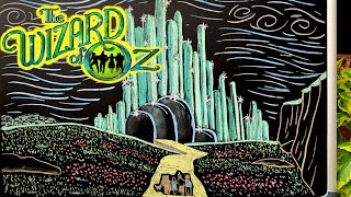 Somewhere Over the Rainbow (Wizard of Oz) ♫ Relaxing Music + Chalk Art
