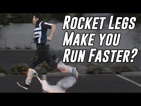 Do Rockets On Your Legs Make You Run Faster My Hero