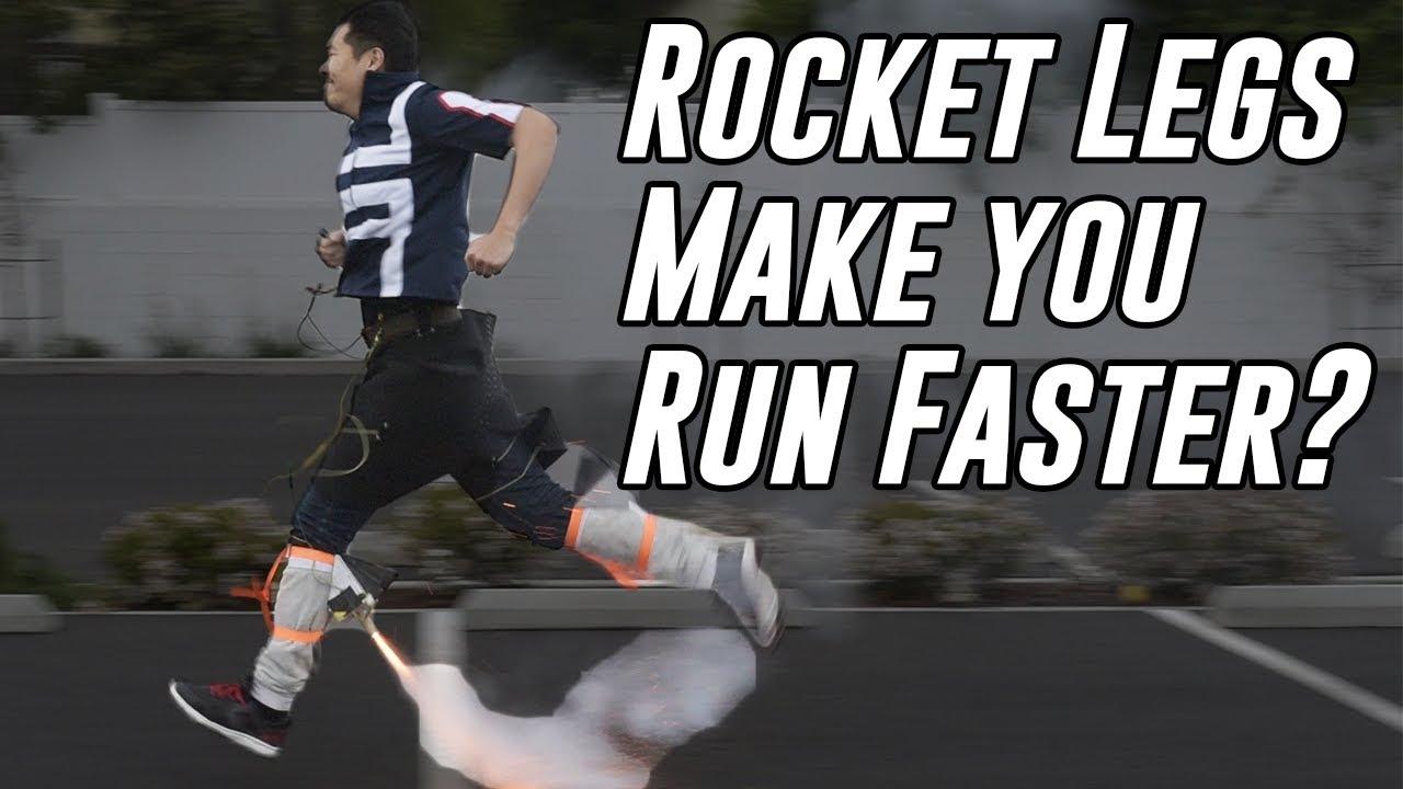 Do Rockets On Your Legs Make You Run Faster?   My Hero Academia Month!!!  (Tenya Iida's Rocket Legs)