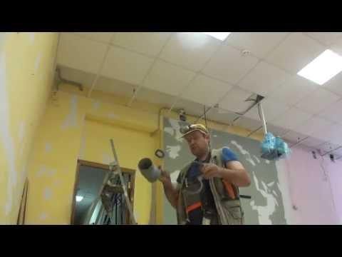 видео: Полезное приспособление для более лёгкой прокладки кабеля за собранными потолками.